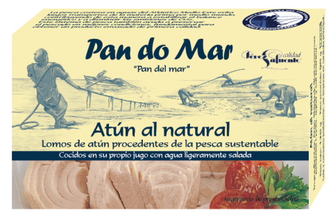 Atún al Natural de Pan Do Mar 525 gr