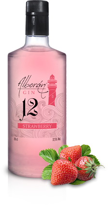 Ginebra Alborán Strawberry (Fresa)