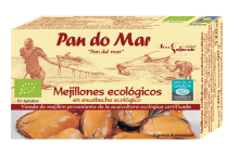 Mejillones en Escabeche Ecológicos de Pan Do Mar 120 gr.